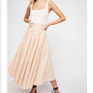 Free People Sunrise Skirt